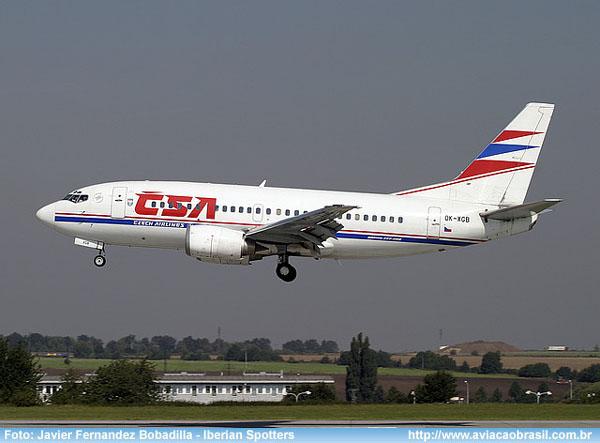 , CSA Czech Airlines (República Tcheca), Portal Aviação Brasil