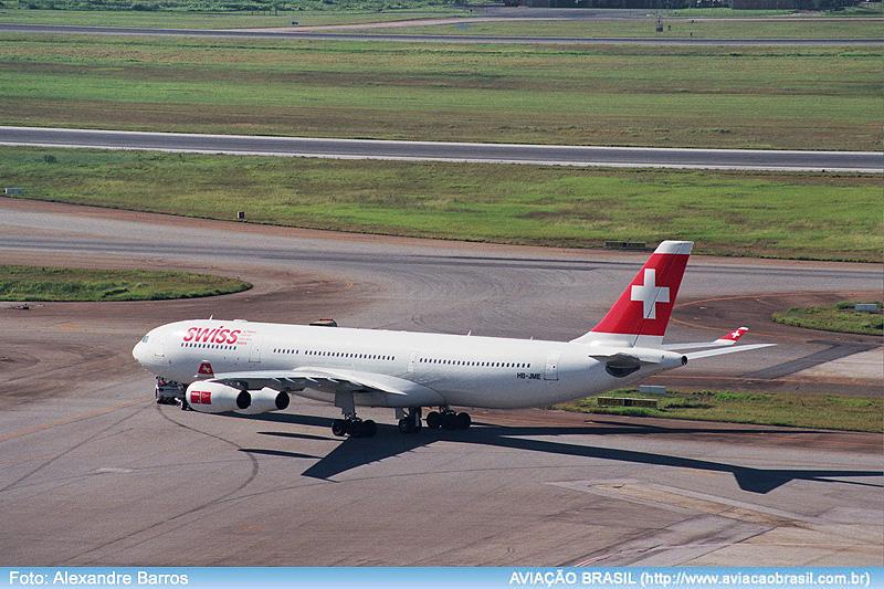 Swiss, Swiss International Airlines (Suíça), Portal Aviação Brasil