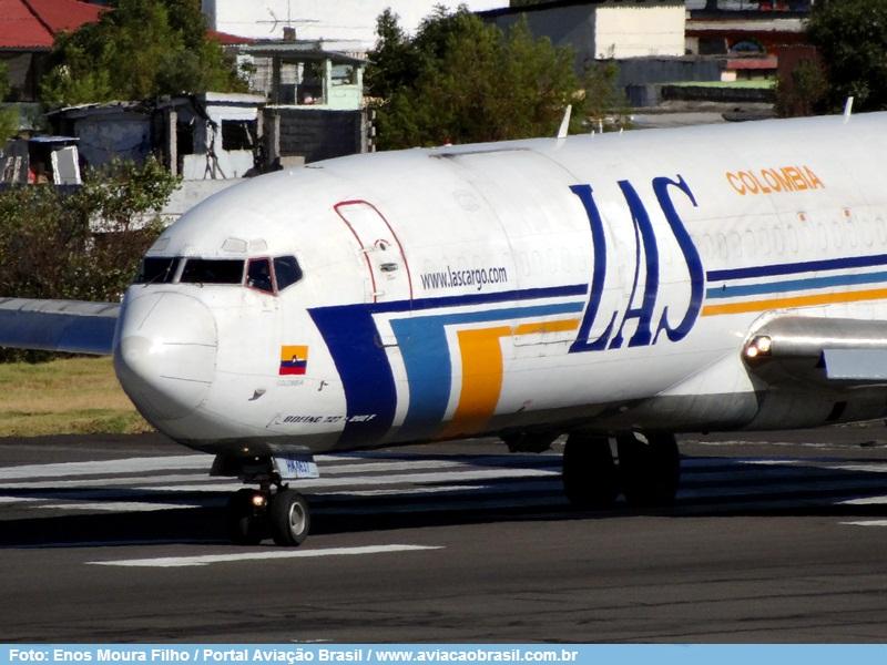 Suramericanas, LAS – Lineas Aereas Suramericanas (Colômbia), Portal Aviação Brasil