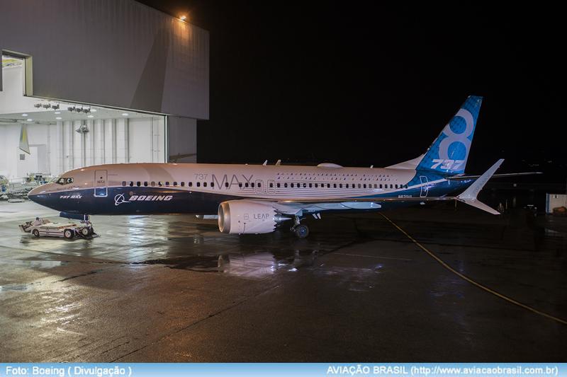 Boeing apresenta o primeiro 737 MAX 8, Boeing apresenta o primeiro 737 MAX 8, Portal Aviação Brasil