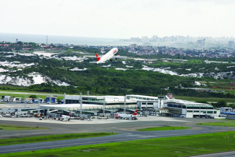 , Concluídas obras na pista principal do Aeroporto Internacional de Salvador, Portal Aviação Brasil
