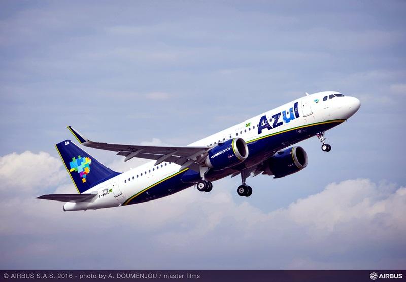 , Airbus entrega o primeiro A320neo à Azul, Portal Aviação Brasil