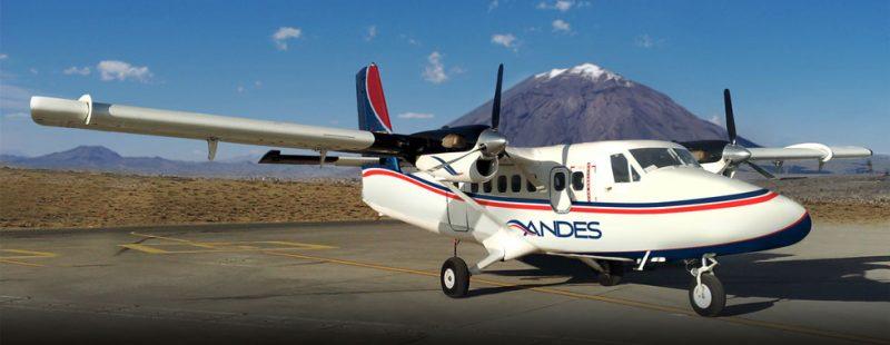 , Andes Air (Peru), Portal Aviação Brasil