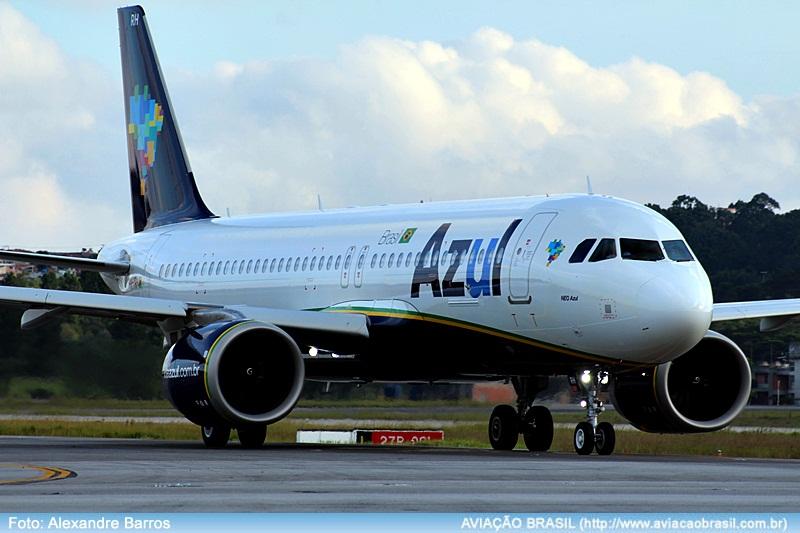 Azul; Airbus A320Neo, Azul recebe 14ª aeronave Airbus A320Neo, Portal Aviação Brasil