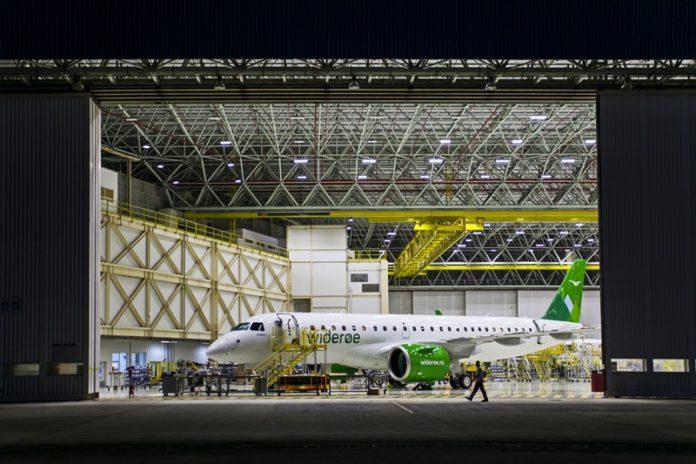 Embraer, Está quase pronto! Widerøe, Embraer 190-E2!, Portal Aviação Brasil