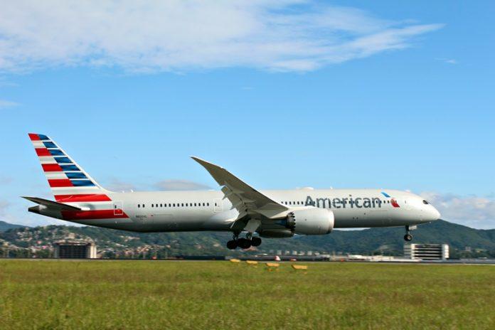 American Airlines, American Airlines com novos Boeing 787, Portal Aviação Brasil