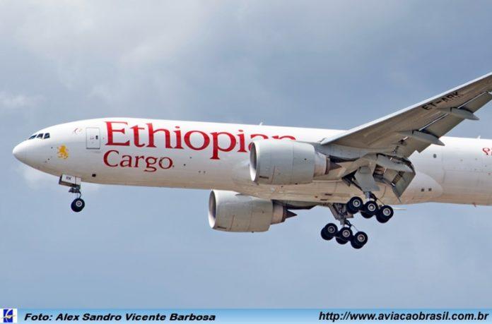 Ethiopian, Ethiopian Cargo regular no GRU Airport, Portal Aviação Brasil