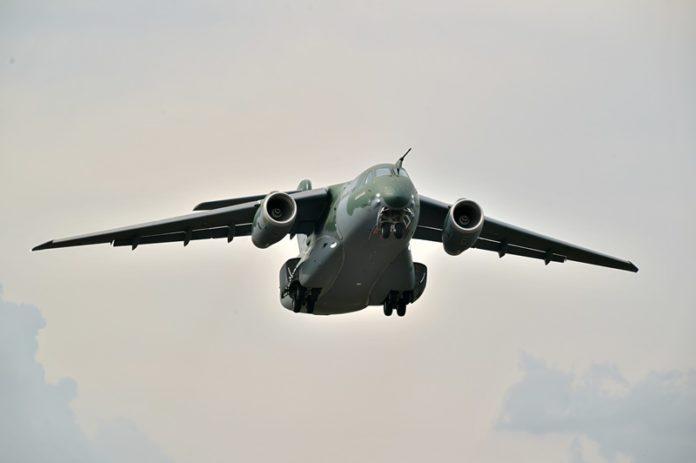 Embraer, Embraer realiza primeiro voo do KC-390 de série, Portal Aviação Brasil