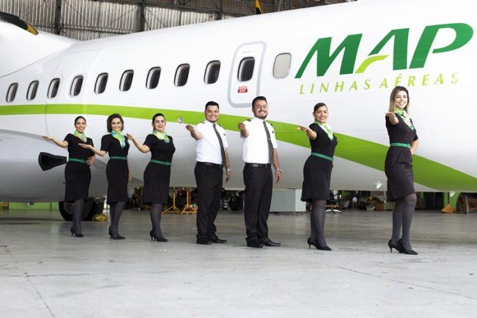 , MAP Linhas Aéreas está selecionando copilotos e comissários, Portal Aviação Brasil